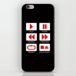 Music Player Button iPhone Skin