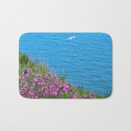 Wild Flowers on the Cliff Top Bath Mat