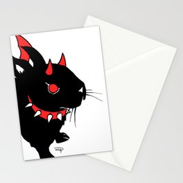 Evil Bunny Stationery Cards