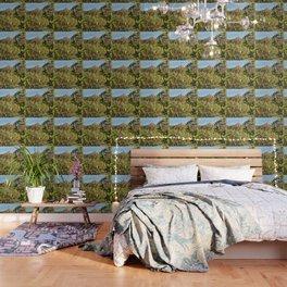 Beyond the Treetops Wallpaper