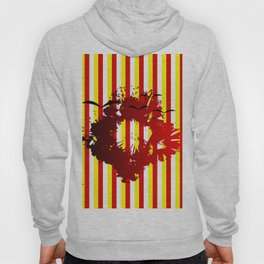 Abstract colorful striped Hoody
