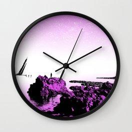 Crash on the Horizon Wall Clock