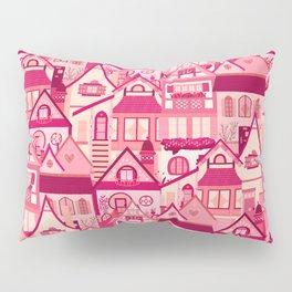Pink Little Town Pillow Sham