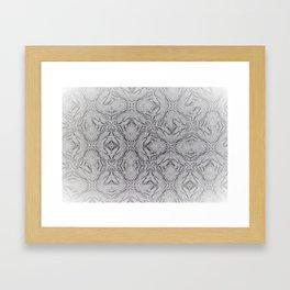 Geo Pattern Framed Art Print