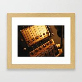 Humbucking Pickup and Trem Block Framed Art Print