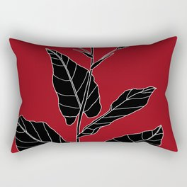 Rock Pituri (Also known as Bone Marrow Tobacco) - Nicotiana gossei Rectangular Pillow