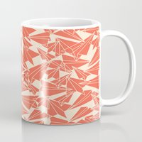 aviation Mugs featuring School Yard Aviation Solid by Dianne Delahunty