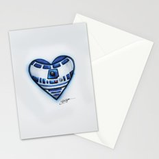R2D2 Star Wars Heart Stationery Cards