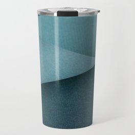 Folded paper waves Travel Mug