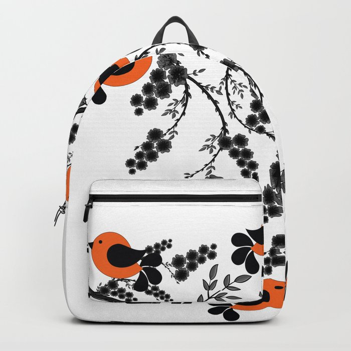 orange birds Backpack