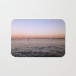 Sailing in Lisbon Portgal Bath Mat