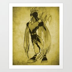 The Rooster Art Print