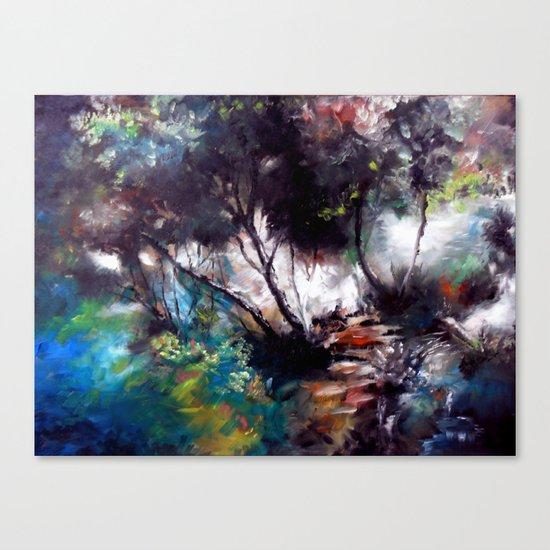 çaglayan Canvas Print
