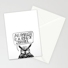 Said Owl Stationery Cards