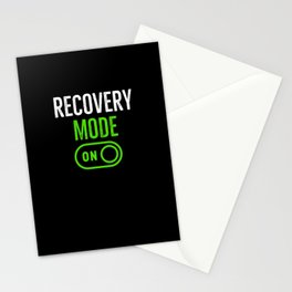 Recovery Mode On Stationery Cards