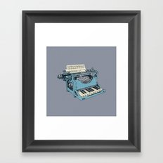The Composition. Framed Art Print