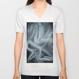 Digital abstract art Unisex V-Neck