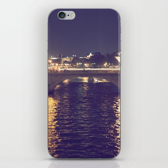 Paris by Night II iPhone Skin