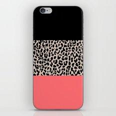 Leopard National Flag XV iPhone & iPod Skin