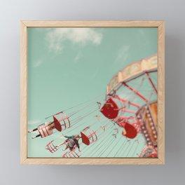 Fun Of The Fairground Framed Mini Art Print