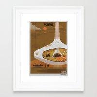 babina Framed Art Prints featuring ARCHINOWHERE 013_study by federico babina