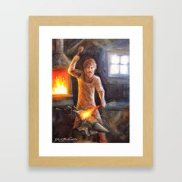 The Bladesmith Framed Art Print