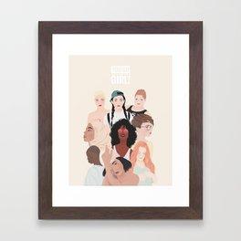 Women | International Women's Day Framed Art Print