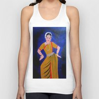 dancer Tank Tops featuring Dancer by Priyanka Rastogi