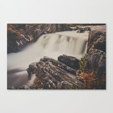 The Water Falls Canvas Print