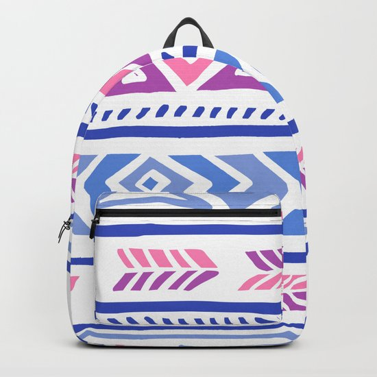 Tribal Pattern Backpack