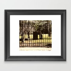 A Fleeting Moment Framed Art Print