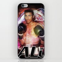 ali gulec iPhone & iPod Skins featuring Ali #2 by YBYG