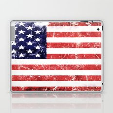American Grunge Flag Laptop & iPad Skin