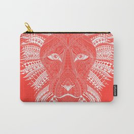 ELILIA Lion in White Carry-All Pouch