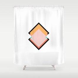Spring Tiles Shower Curtain