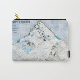 Mount Everest, Nepal Asia Carry-All Pouch
