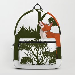 The Forest fox Backpack