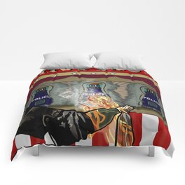 Molotov Cocktail Party Comforters