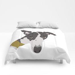 Whippet Portrait Comforters