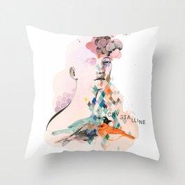 Diamond Mind Throw Pillow