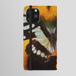 Summer Butterfly iPhone Wallet Case
