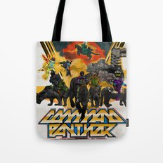 Command Panther Tote Bag