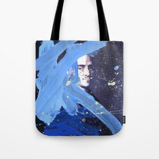 Blue Explosion Tote Bag