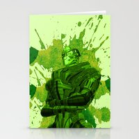 garrus Stationery Cards featuring GARRUS - MASS EFFECT by MarcoMellark