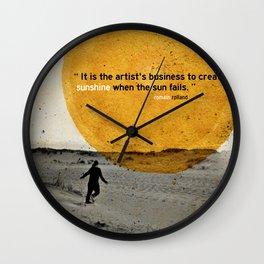 sunshine Wall Clock