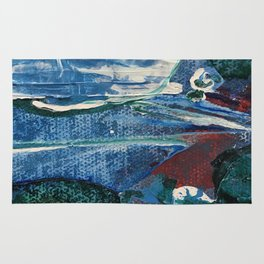 Mini World Environmental Blues 2 Rug