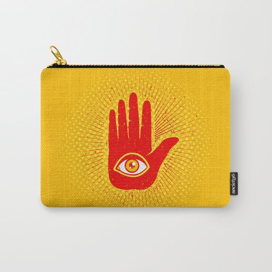 Hand and eye Carry-All Pouch