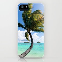 Hawaii Palm iPhone Case