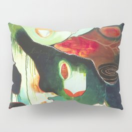 """Inner Whisper #2"" Original Painting by Flora Bowley Pillow Sham"