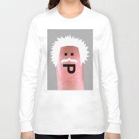 einstein Long Sleeve T-shirts featuring einstein by Panic Junkie